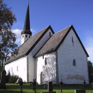 Skaun kirke fra sørøst