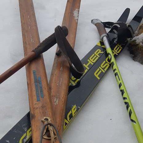 Kor det vart tå skispora?